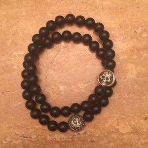 Other - 2 Lava & Stainless bracelets